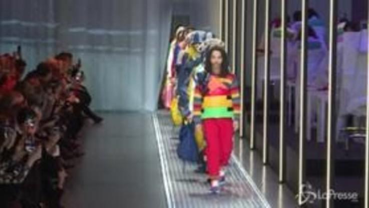 Milano, Benetton apre la settimana della moda donna