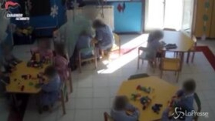 Caltanissetta, botte e minacce all'asilo: maestra ai domiciliari