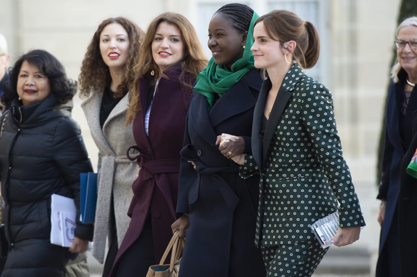 Emma Watson incontra Macron: continua il suo attivismo per la parità di genere
