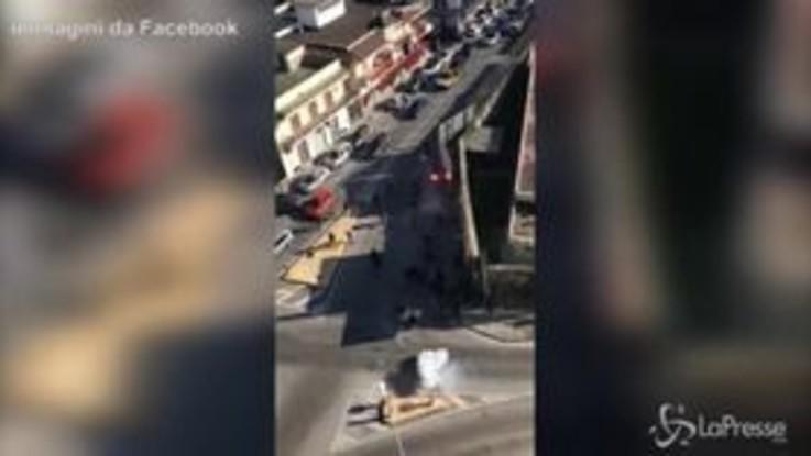 Guerriglia urbana nel Napoletano: scontri tra tifosi di Casoria e Frattese