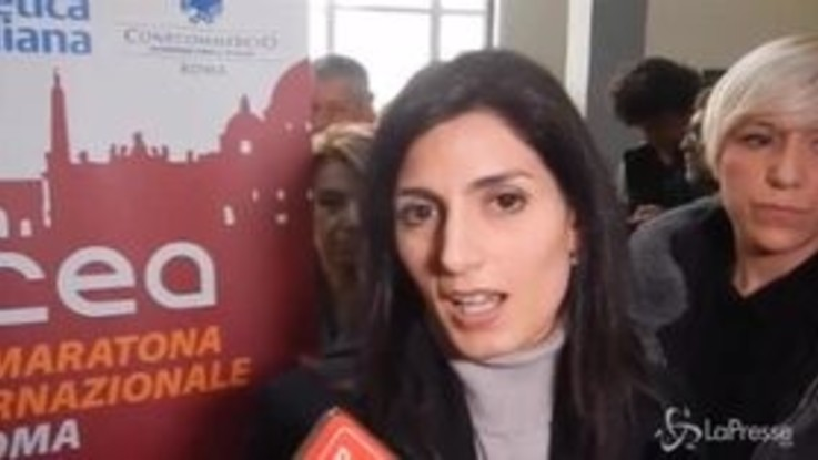 """Conti Ama, Raggi: """"Piena fiducia in Giampaoletti"""""""