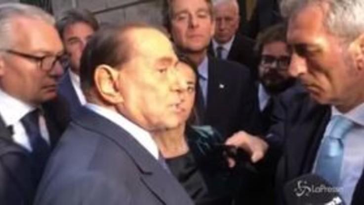 """Berlusconi: """"Attrazione Lega su Forza Italia? No, non esiste"""""""