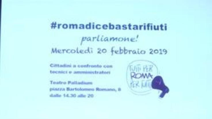 """""""Roma dice basta"""": cittadini ostaggio dei rifiuti"""