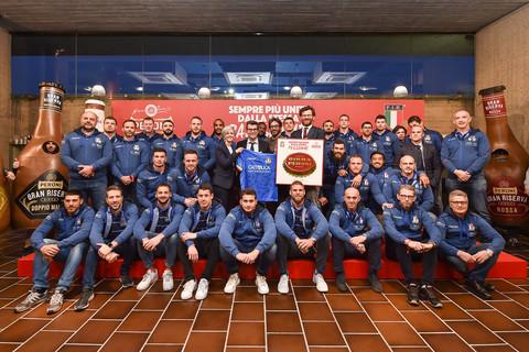 Continua il terzo tempo del rugby azzurro. Rinnovata la sponsorship Peroni-Nazionale italiana