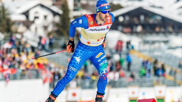 Mondiali di sci di fondo, Pellegrino d'argento nella sprint di Klaebo