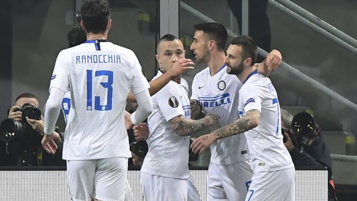 Europa League, l'Inter va anche senza Icardi: poker al Rapid e ottavi