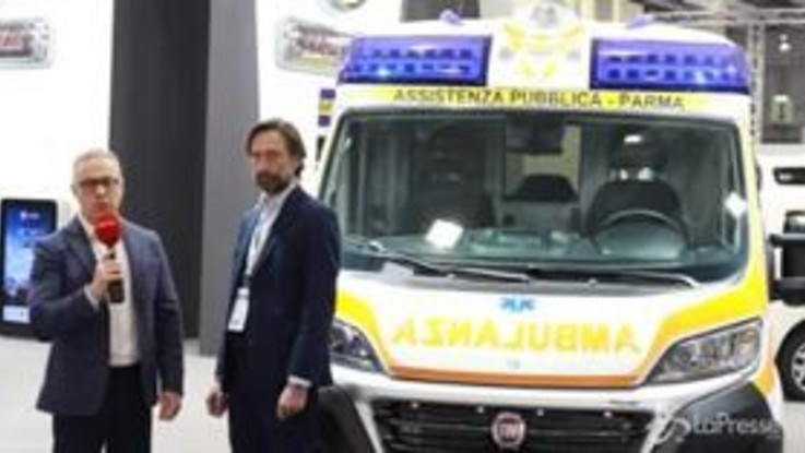 Fiat Professional a Transpotec 2019: Ducato ambulanza