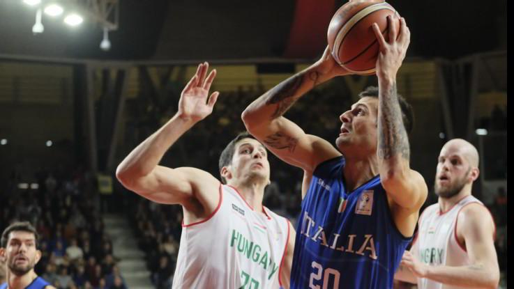 Basket, battuta l'Ungheria, Italia ai mondiali di Cina