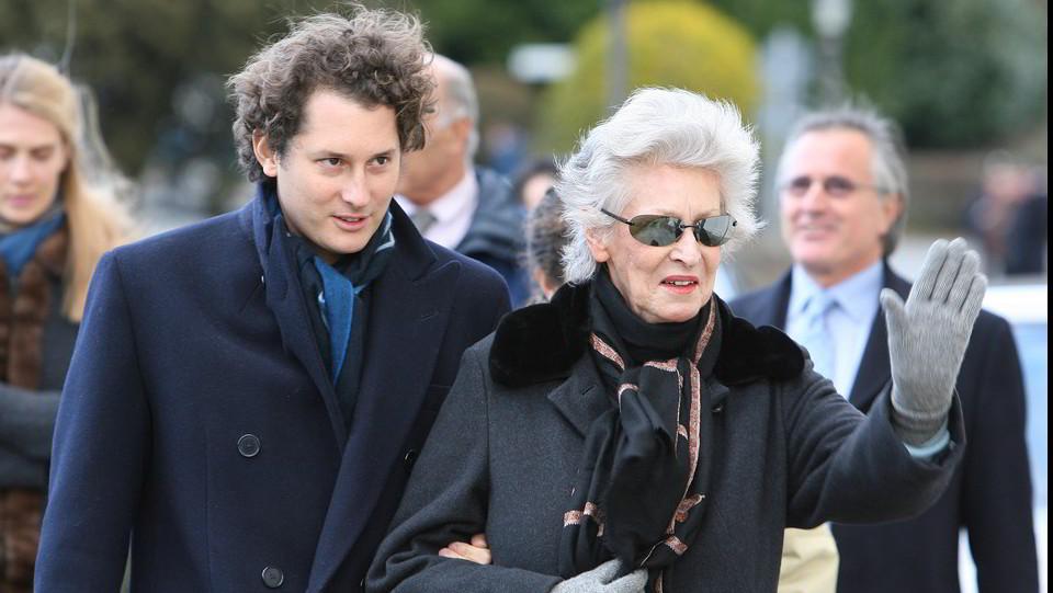 24 gennaio 2007, Villar Perosa, quarto anniversario della morte di Giovanni Agnelli ©