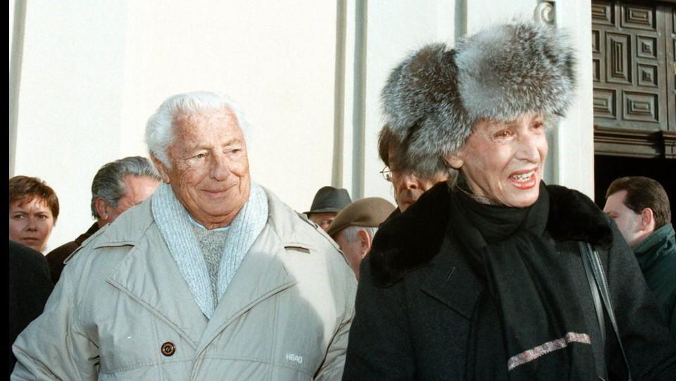 13 dicembre 1998, a Villar Perosa con Giovanni Agnelli alla commemorazione di Giovannino Agnelli ©