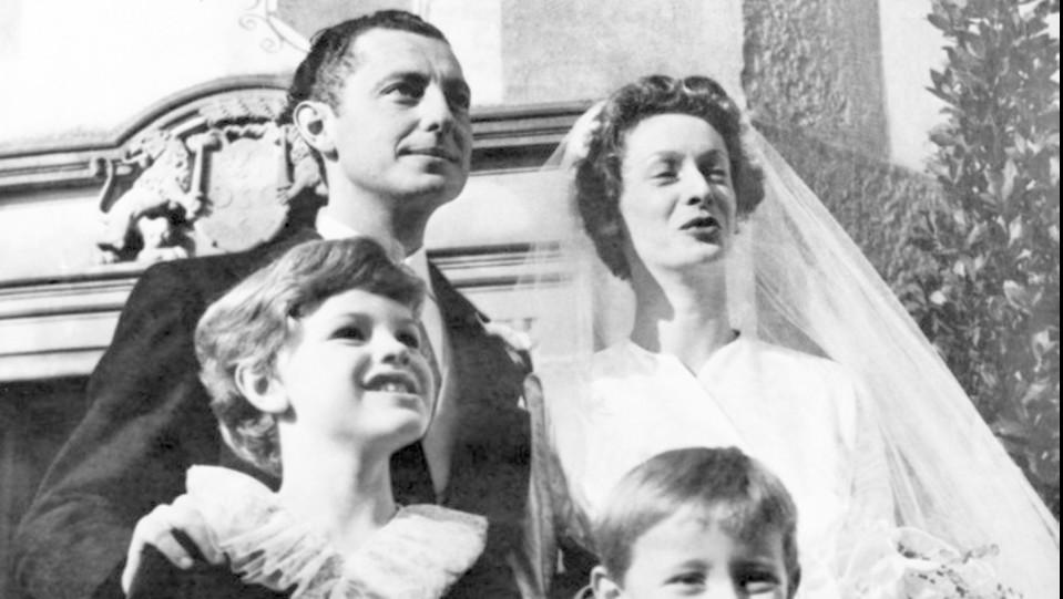 !9 novembre 1953, n3l giorno del matrimonio con Giovanni Agnelli ©