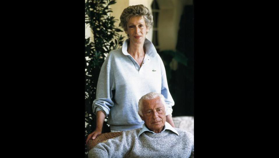 Un'immagine di Marella e Giovanni Agnelli del 1986 ©
