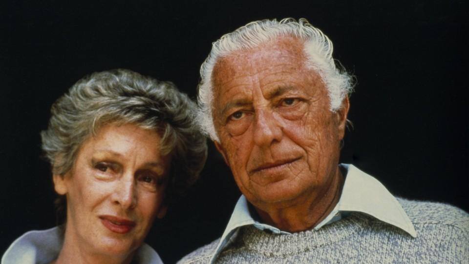 Con Giovanni Agnelli nel 1986 ©