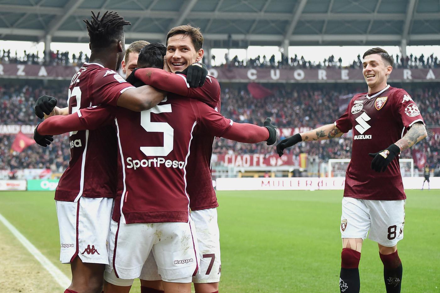 Serie A, Toro irrompe in zona Europa: Iago-Izzo, battuta e agganciata Atalanta