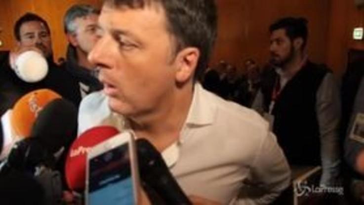 """Renzi: """"Chi dice che devo essere impiccato è un incivile e fa schifo"""""""