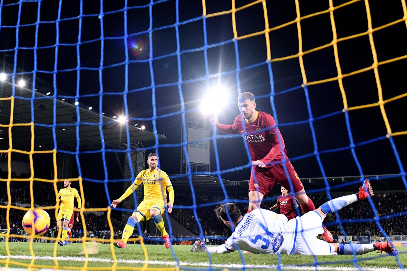 Serie A, Frosinone-Roma 2-3; il fotoracconto