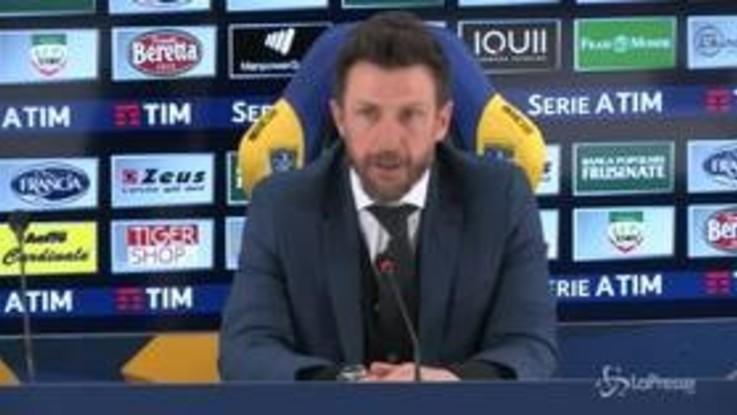 """Roma Di Francesco: """"I gol subiti? Sarò tornato zemaniano..."""""""