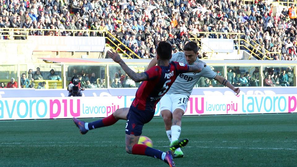 Dybala segna il gol dell'1-0 per la Juventus ©