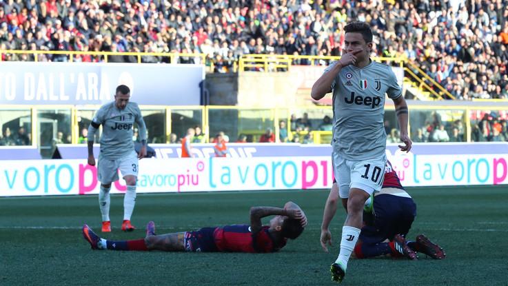 Serie A, Juve da record: Dybala entra e stende il Bologna