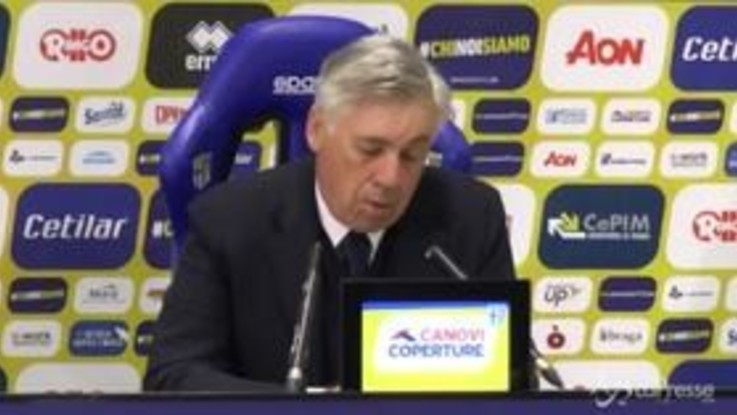 """Napoli, Ancelotti: """"Affronteremo la Juve con entusiasmo"""""""