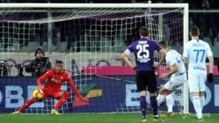 Serie A, Fiorentina-Inter 3-3. Decide la moviola in campo