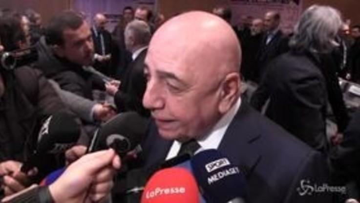 """Milan, Galliani: """"Donnarumma è incredibile. Pensare che era a meno di un passo dall'Inter"""""""