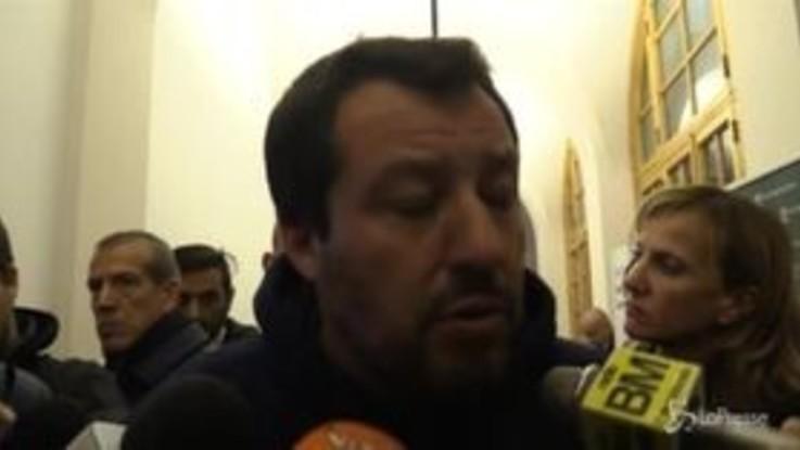 """Finanziamenti alla Lega, Salvini: """"Non è arrivato nulla e non arriverà nulla"""""""