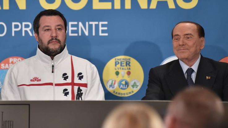 """Sardegna, il centrodestra vince ma non sfonda. Berlusconi: """"Lega non autosufficiente"""""""