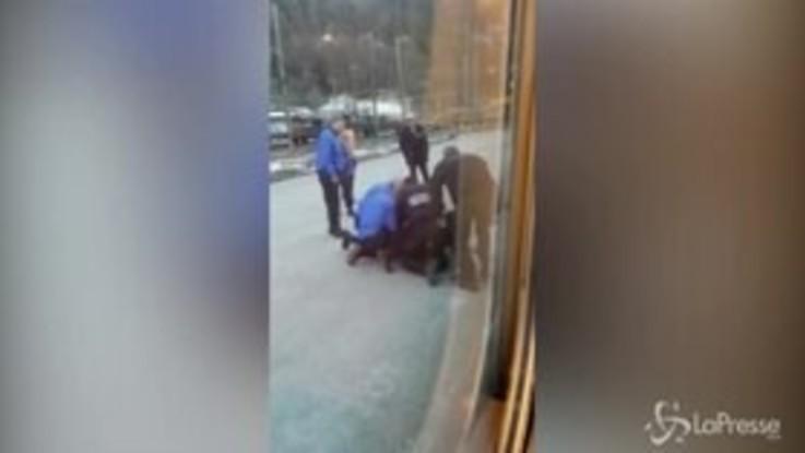 Modane, migrante nascosto sul treno: il brusco arresto della polizia francese