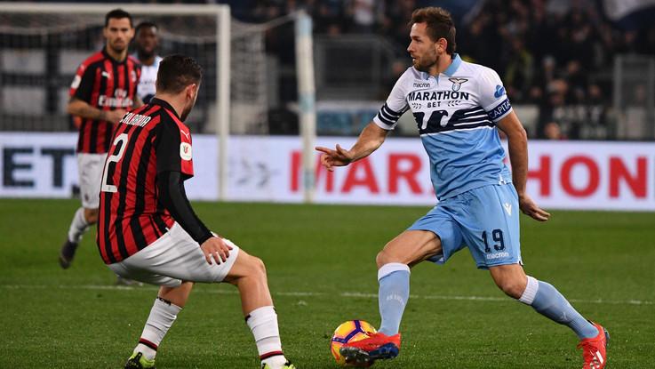 Semifinale Coppa Italia, la Lazio ci prova, il Milan soffre ma resiste 0-0