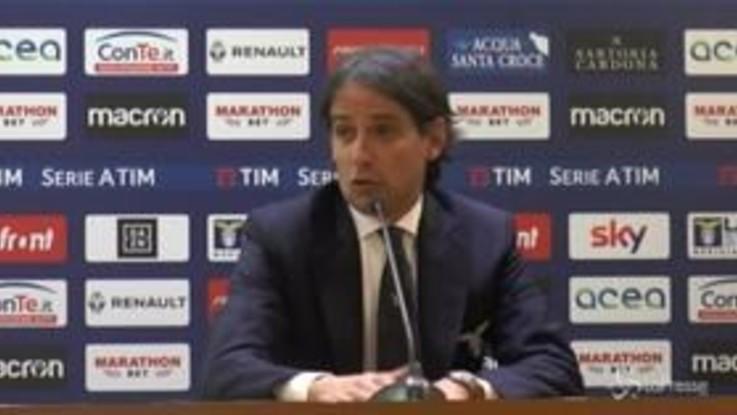 """Coppa Italia Lazio-Milan, Inzaghi: """"Con una prestazione così 8 volte su 10 vinci"""""""