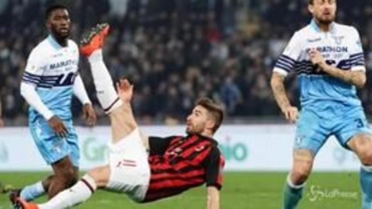 Coppa Italia, 0-0 tra Lazio e Milan