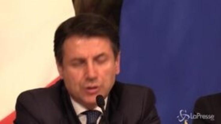 """Rapporto Commissione Ue, Conte: """"Le stime sottovalutano l'impatto delle misure varate dall'Italia"""""""