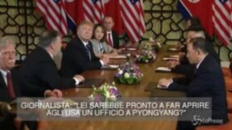 Kim-Trump: al via secondo giorno di colloqui