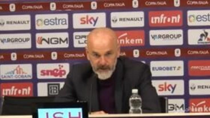"""Fiorentina, Pioli: """"Chiesa?Non mi è piaciuta la risposta di Gasperini"""""""