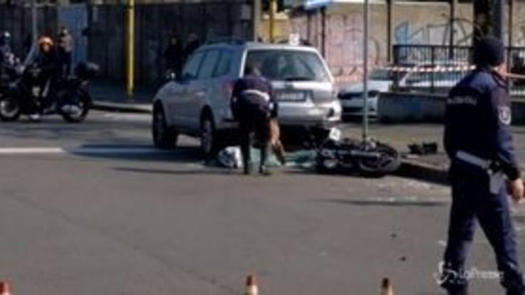 Milano, incidente in piazza Bilbao: muore motociclista