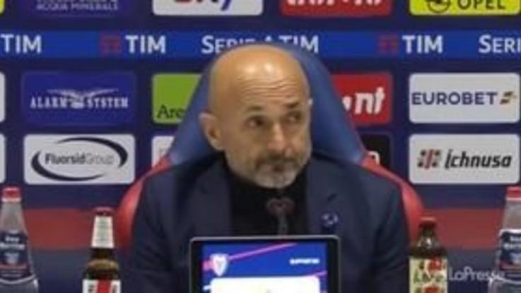 """Inter, Spalletti: """"Troppo timidi. Ranocchia centravanti? Non ho attaccanti"""""""