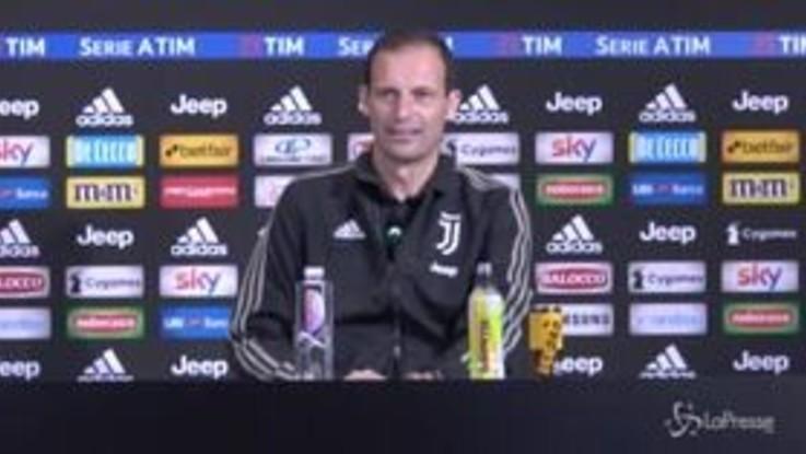 """Napoli-Juventus, Allegri: """"Dopo l'Atletico critiche ingiuste"""""""