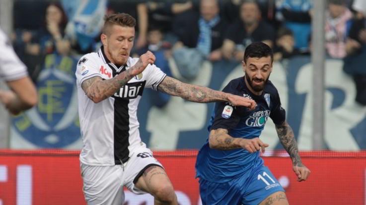 Serie A, gol e spettacolo al Castellani: Empoli-Parma 3-3