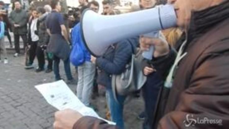 La Lazio Nuoto in protesta, sit-in in Campidoglio