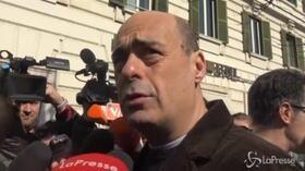 """Primarie Pd, Zingaretti: """"Ci danno per spacciati ma non lo siamo"""""""