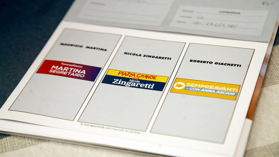 la scheda per la scelta del candidato ©