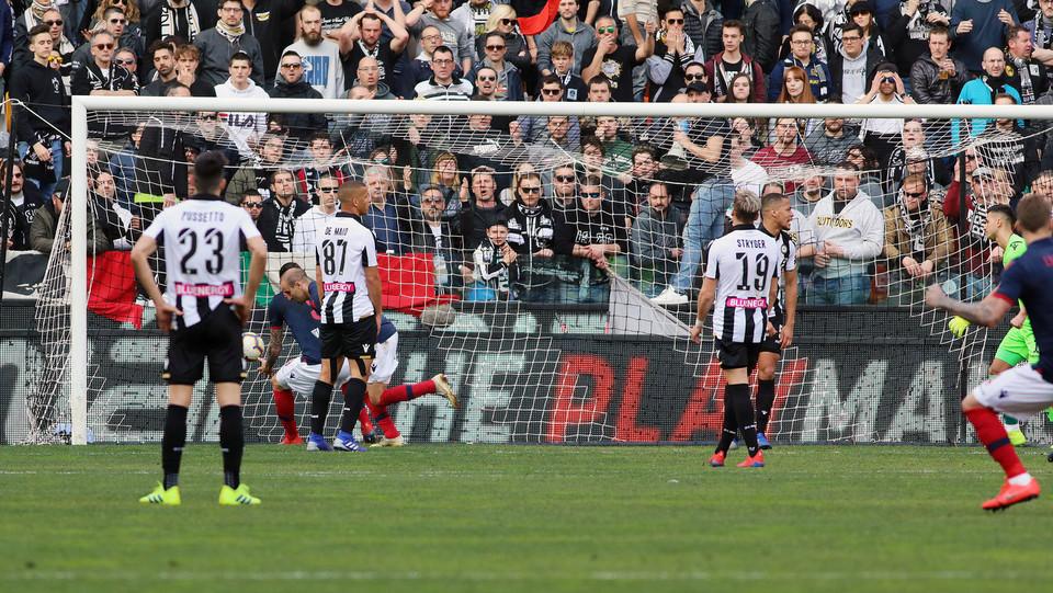 39' Palacio gol! Il Bologna pareggia ©