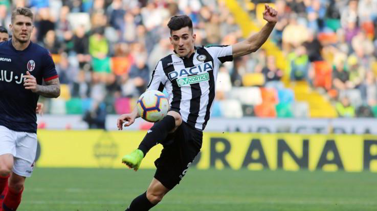 Serie A, Udinese batte e inguaia Bologna: Pussetto gol-salvezza, 2-1