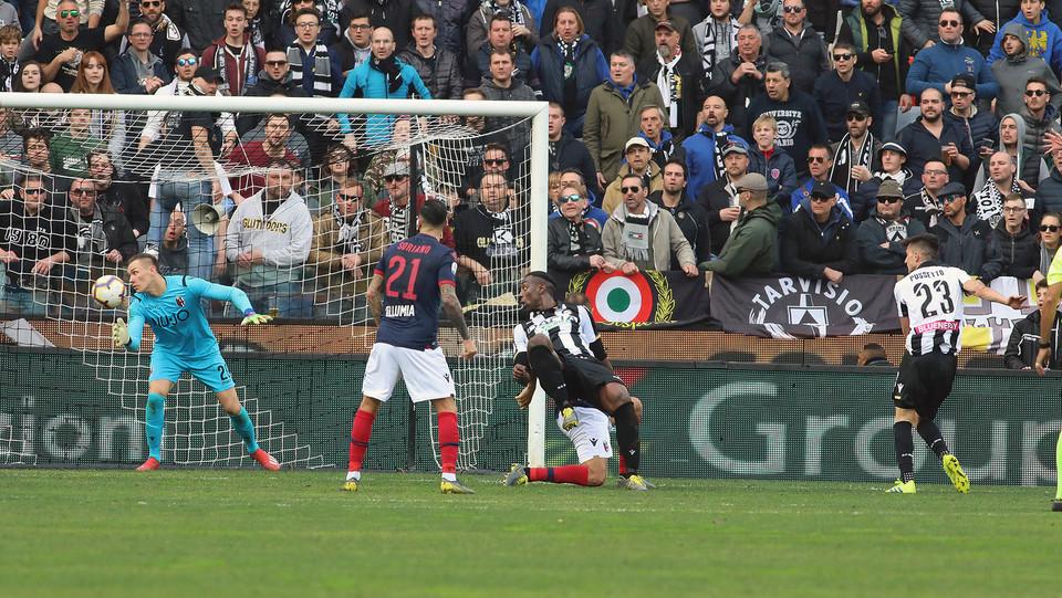 80' Udinese di nuovo in vantaggio con un gol di Pussetto ©