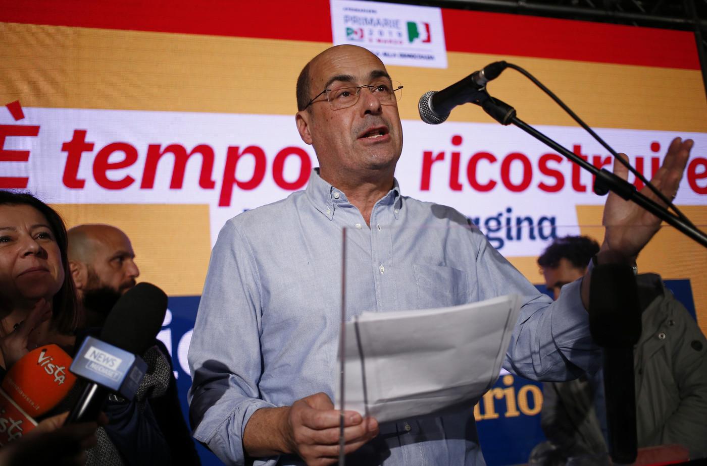 Pd, primarie, uniti Zingaretti, Martina, Renzi, Giachetti