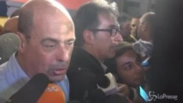 """Zingaretti: """"Salvini dice che il Pd è il passato? Je rode"""""""