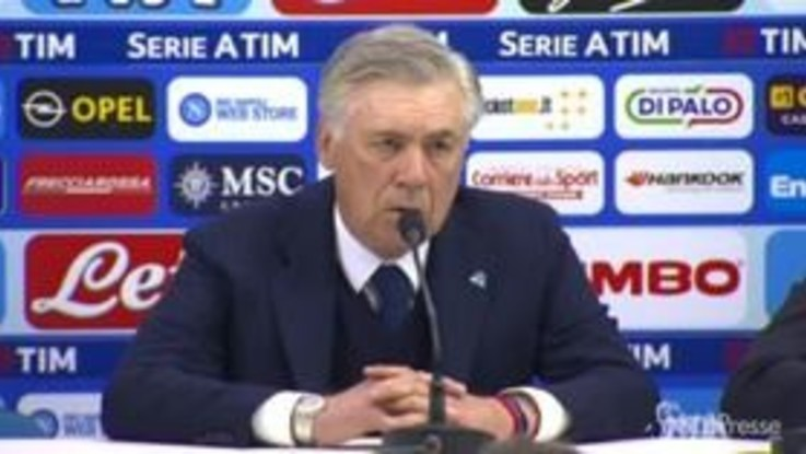 """Napoli-Juventus, Ancelotti: """"Risultato immeritato"""""""