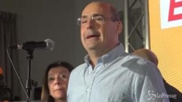 """Primarie Pd, Zingaretti: """"Non ho capito perché ma è toccato a me"""""""