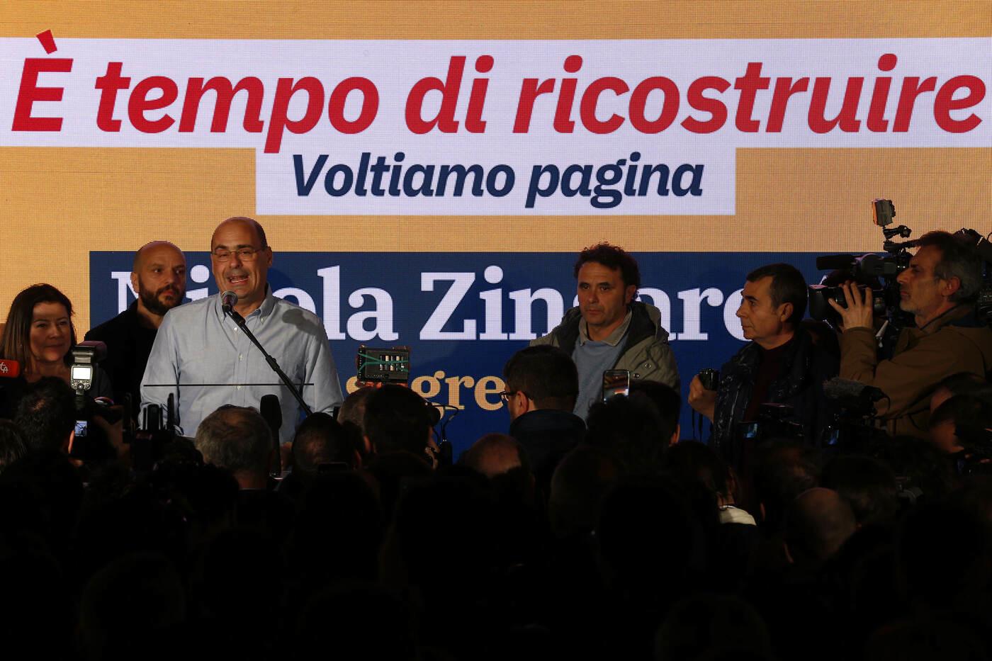 """Pd, Parisi: """"Zingaretti è l'unico che può riportare il centrosinistra a vincere"""""""